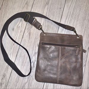 Vegan leather cross body bag nwot